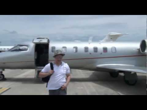 Private Jet Booze Party