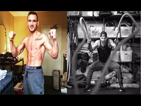 Michael Chandler training MMA