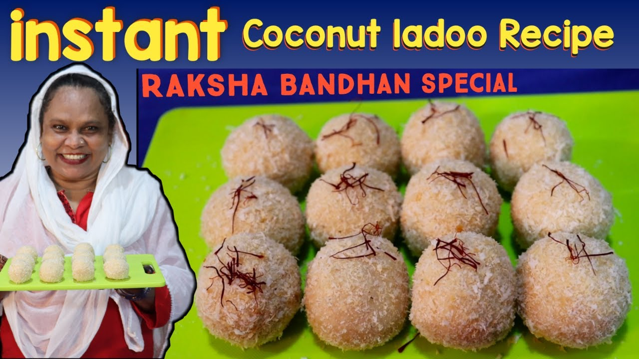 10 मीनट Main हलवाई Jaise लड्डू |Instant Coconut Ladoo Recipe | Nariyal Ladoo Recipe
