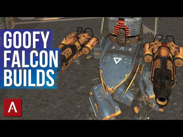 War Robots Funny Moments - GOOFY FALCON BUILDS | Funny Builds Friday Ep.25