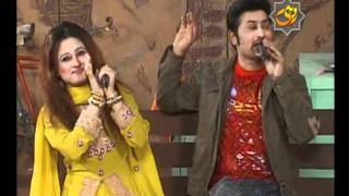 Singers Mazhar Rahi & Amber Iqbal In Comedy Program Ain Ghain On ROHI TV
