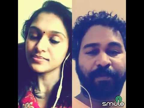 Nee partha paarvai karaoke cover Pallavi vinoth & Akashamala