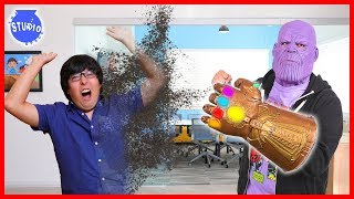 THANOS IN OUR OFFICE ! The Studio Space gets SNAPPED AWAY !
