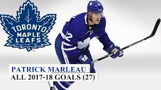 Patrick Marleau (#12) All 27 Goals of the 2017-18 NHL Season