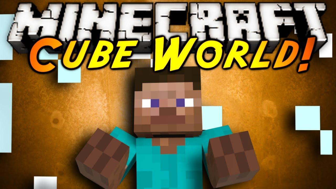 Мод Cube World - Кубический мир для Minecraft 1.7.2/1.6.4 ...