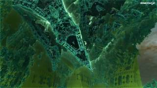 3D Fractal zoom (Split Point II - Fast) Mandelbox (720p 30fps)