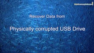 DDR Data Recovery Software: How to recover data from physically damaged USB drive