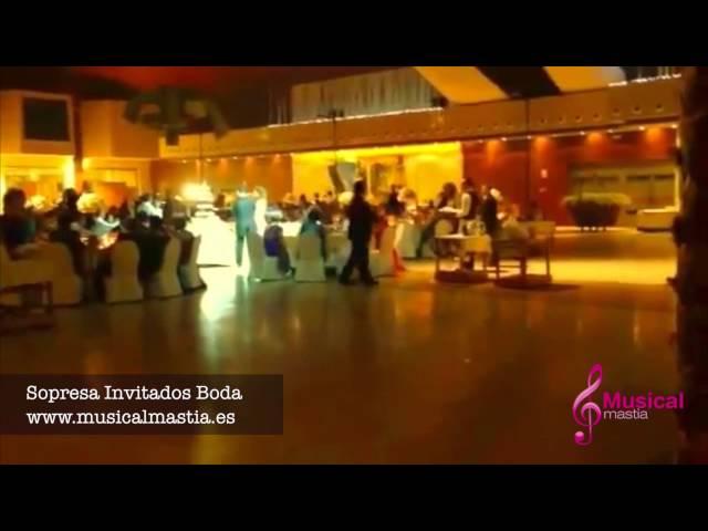 Sorpresa Invitados Boda CASON DE LA VEGA SANTOMERA