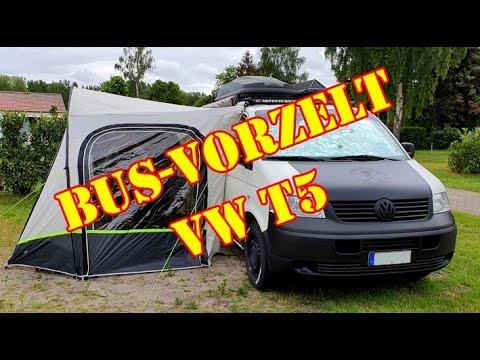 VW T5 Bus - Vorzelt Hispaniola. Trip zur Ostsee mit dem Camper VW T5