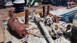 Со дна Керченского пролива поднята уникальная пушка