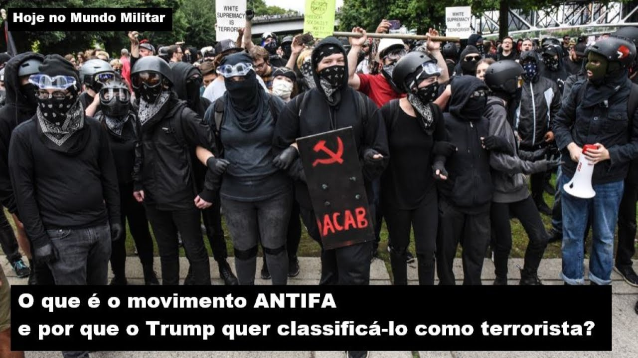 O que é o movimento ANTIFA e por que o Trump quer classificá-lo como terrorista?