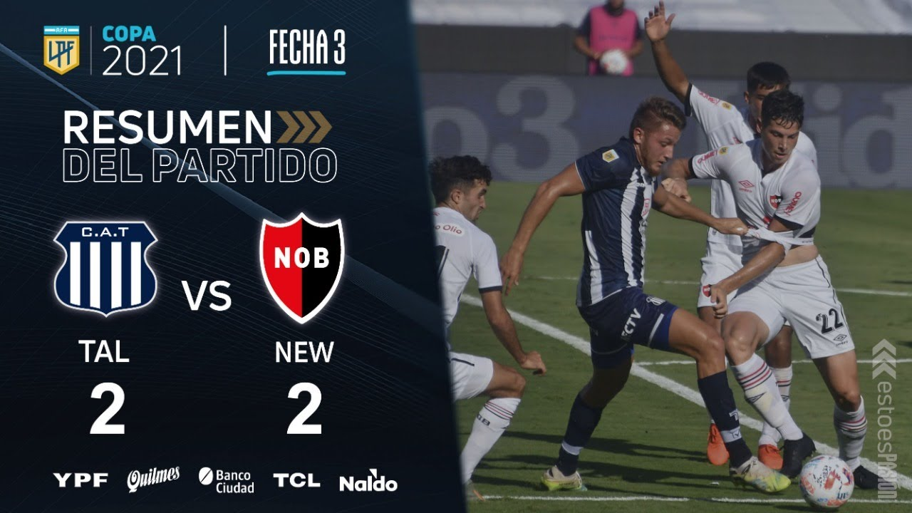 Copa De La Liga | Fecha 3 | resumen de Talleres - Newell's