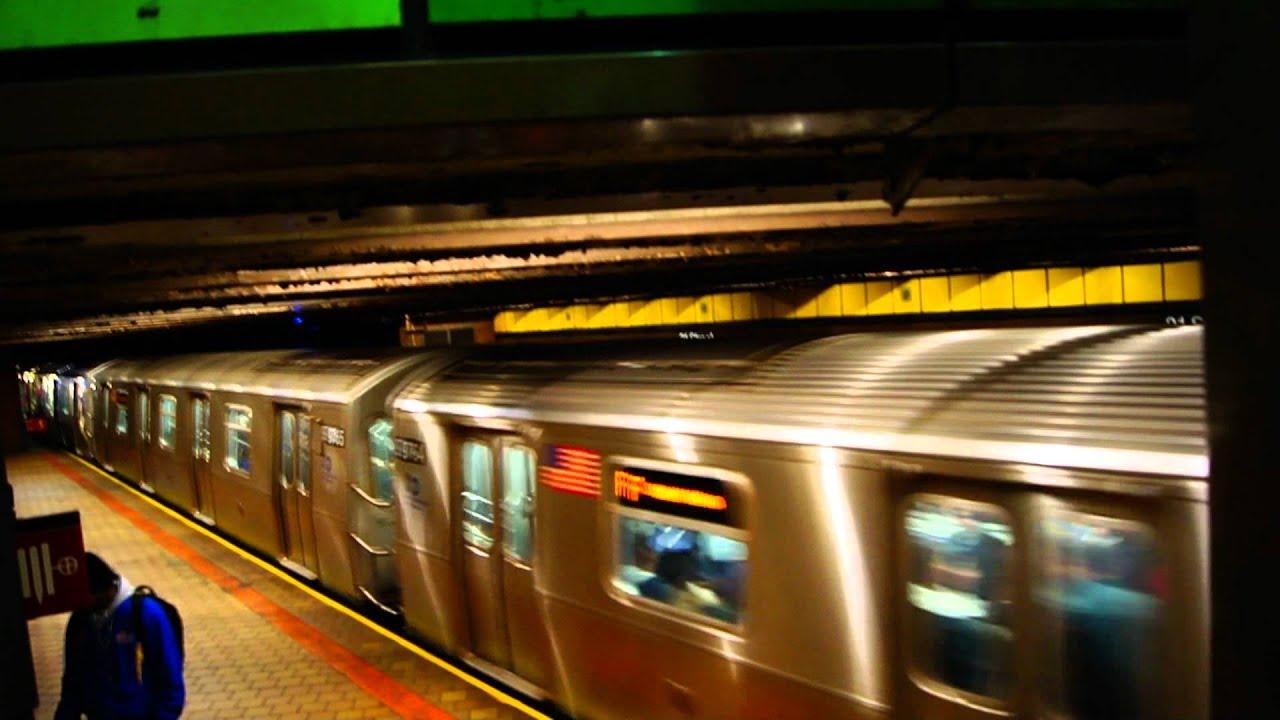 MTA Subways | Coney Island Bound ALSTOM R160A-2 F Train At ...