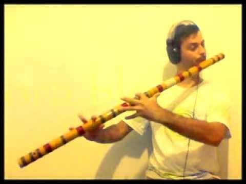 Bass Bamboo Flute - Bansuri style - key of E