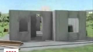 Технология строительства из несъемной опалубки(У блоков несъемной пенополистирольной опалубки превосходные габариты 1200×250×250 мм, а толщина внутренней..., 2011-08-09T19:12:19.000Z)