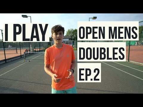 My next Open Mens Doubles Tennis Match with Ben   Second win??