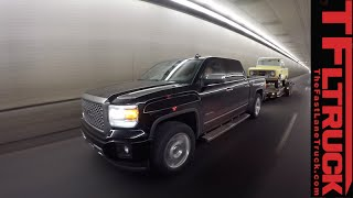 2015 GMC Sierra Denali 1500 6.2L Takes On The Grueling IKE Gauntlet Towing Test Review