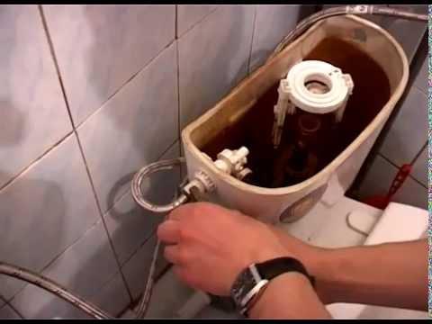 Как поменять клапан в сливном бачке унитаза