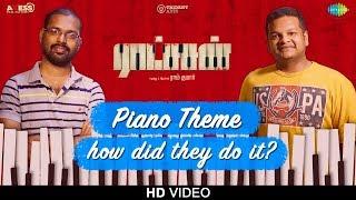 Piano Theme | Ratsasan | Original Background Music | Ghibran | Ramkumar | Vishnu Vishal | Amala Paul