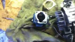 How to Port a 47/49cc Pocket Bike Engine
