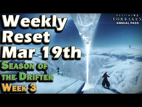Destiny 2 - Week of March 19th - Season of the Drifter Week 3 thumbnail