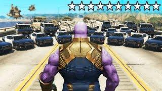 Kann man mit THANOS 10 Sternen in GTA 5 entkommen?