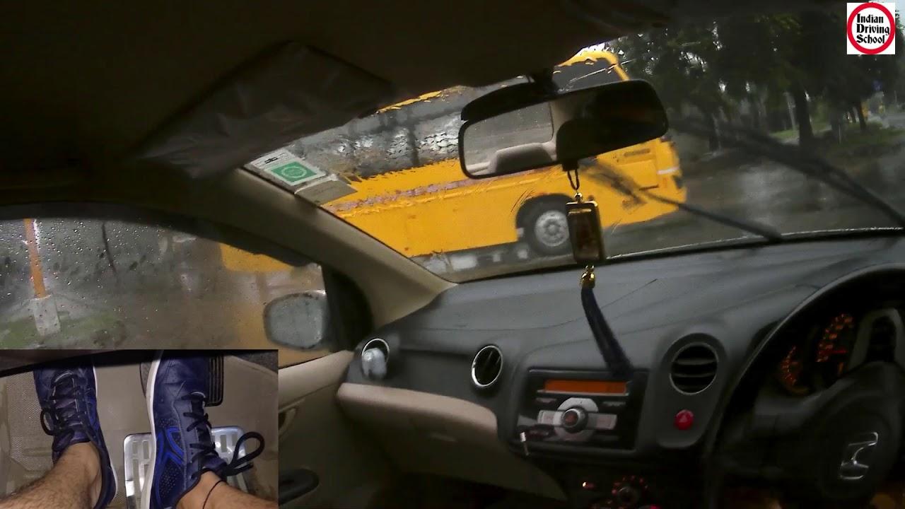 Tips on Driving in Rain   बारिश मैं इन बातो का रखे धयान   Learn Driving  Hindi