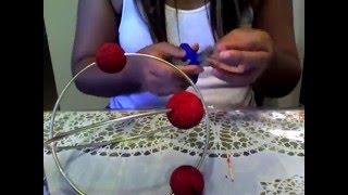 Making 3-D Atom Model