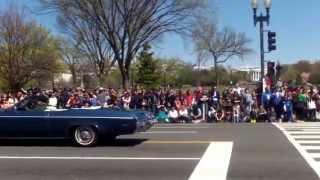 The Cherry Blossom Parade 2015 - Washington DC - 4/11/2015.