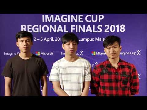 Imagine Cup Regional Finals 2018, Team Beetech from Vietnam