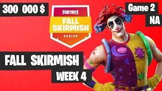 Fortnite Fall Skirmish - Week 4 Game 2 BIG BONUS (SOLOS)