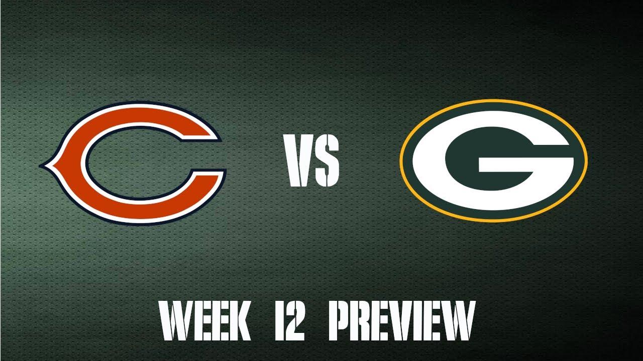 Packers vs Bears Week 12 Preview