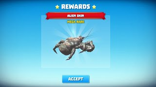 King of crabs - 20.000 coin get Alien skin
