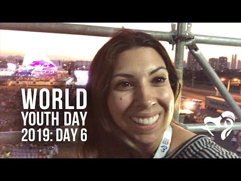 World Youth Day 2019: Press Pass (Day 6)