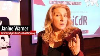 Janine Warner: Innovaciones en nuevos medios digitales