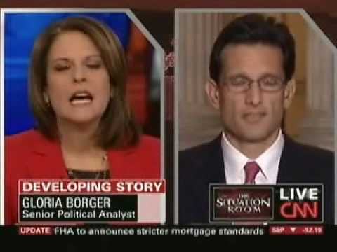 Republican Whip Eric Cantor Discusses The Obama/Pelosi Agenda On CNN