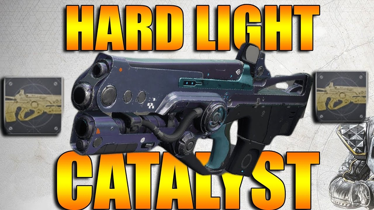 Destiny 2   How To Get & Upgrade Hard Light Catalyst Review   Arc Week  Patch 2 2 1