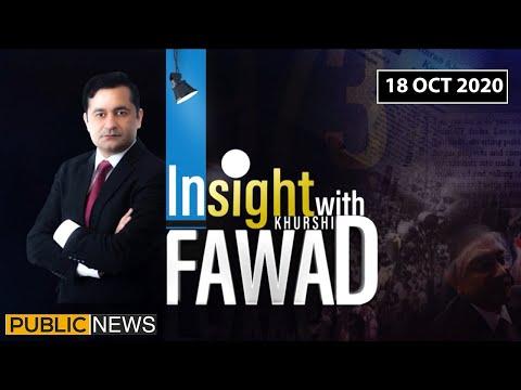 Insight with Fawad Khurshid - Sunday 18th October 2020