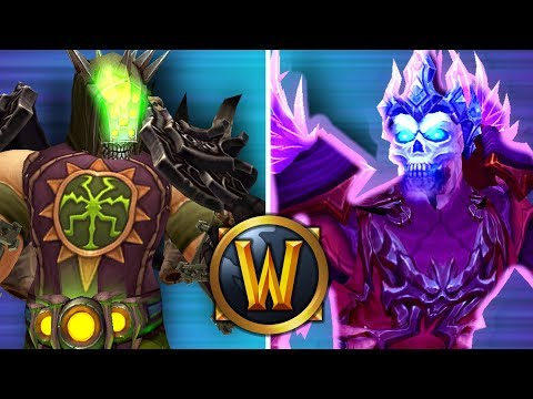 Shadow Priest GOD VS INSANE Warlock! (1v1 Duels) - PvP WoW: Battle For Azeroth 8.1