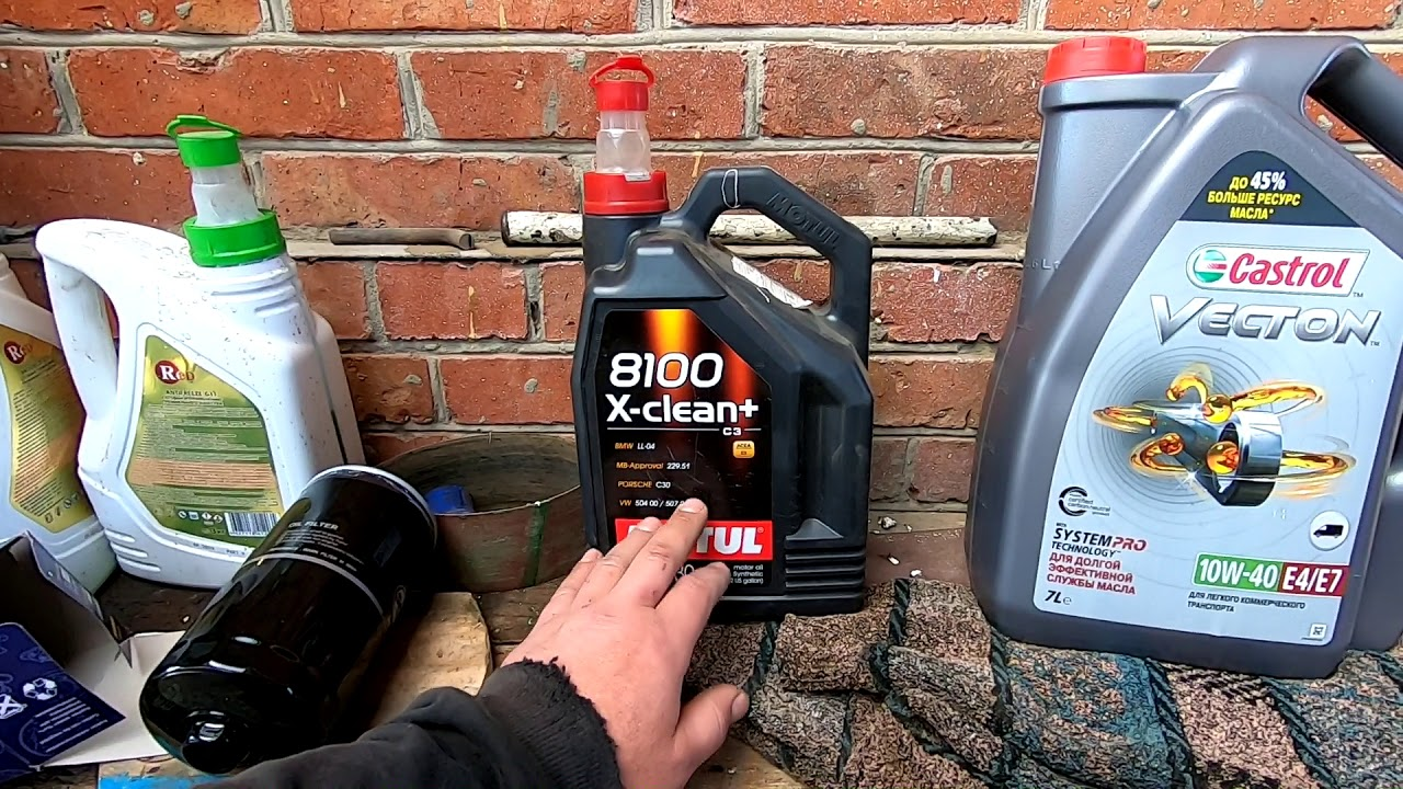 моторное масло для фольксваген транспортер т4 дизель
