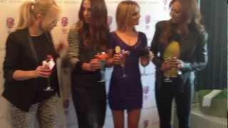 Spice Girls at Harvey Nichols February 2013