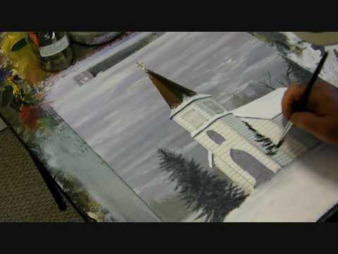 Painting An Old Church William Bullerwell 2010 Youtube