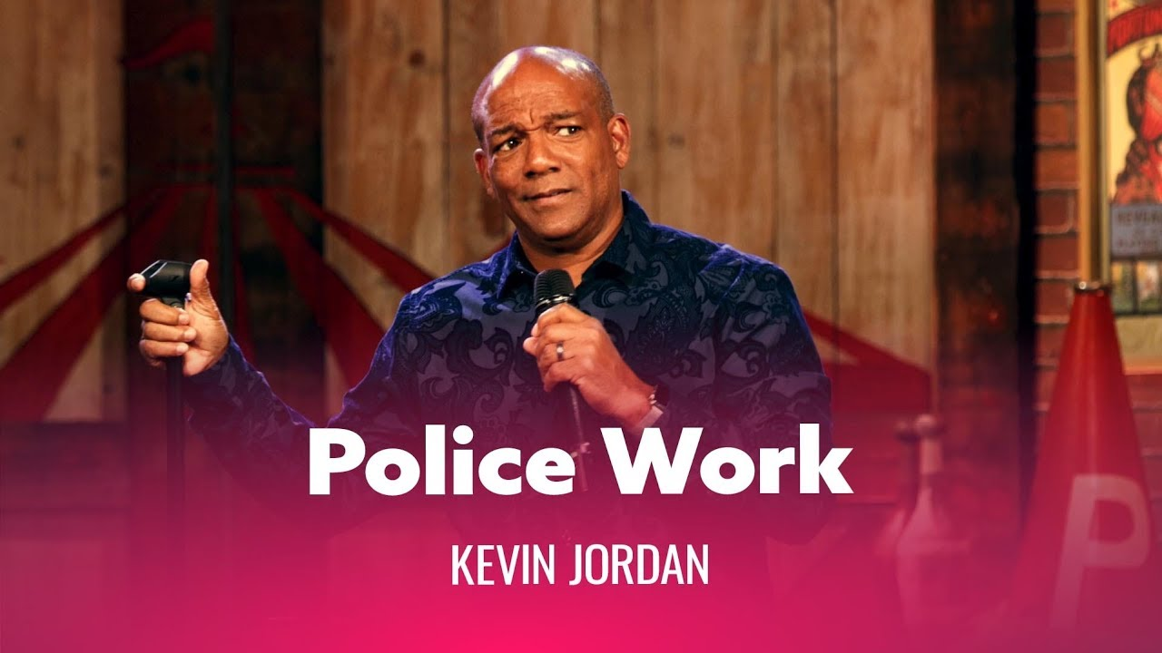 DryBar Comedy The Truth About Police Work. Kevin Jordan