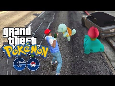 GOTTA CATCH 'EM ALL? | GTA 5 Pokemon GO Mod Part 1