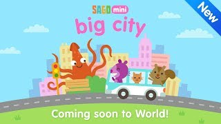 Coming Soon to World: Sago Mini Big City [Official Trailer]