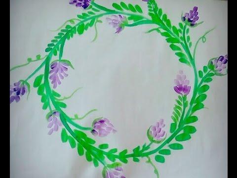 Easy Simple Fabric Painting Basics