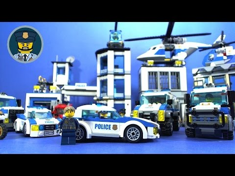 LEGO City Police Station Breakout Full Movie - YouTube