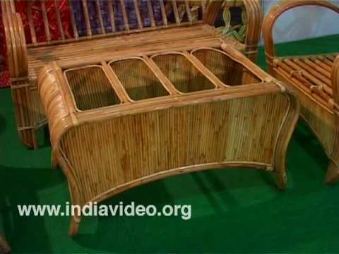 Lovely Bamboo, Cane, Furniture, North East, Dilli Haat   YouTube
