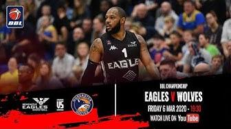 2019-20 BBL Championship: Newcastle Eagles v Worcester Wolves - 6 Mar 2020