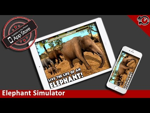 Elephant Simulator - By Gluten Free Games - Compatible with iPhone, iPad, and iPod touch.